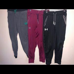 Boys under Armour joggers size YS